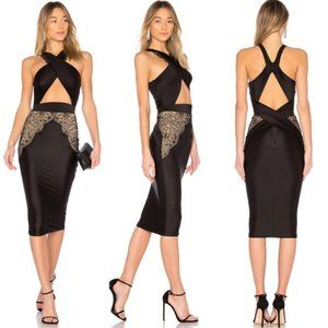 New Michael Costello X Revolve Phillip midi dress